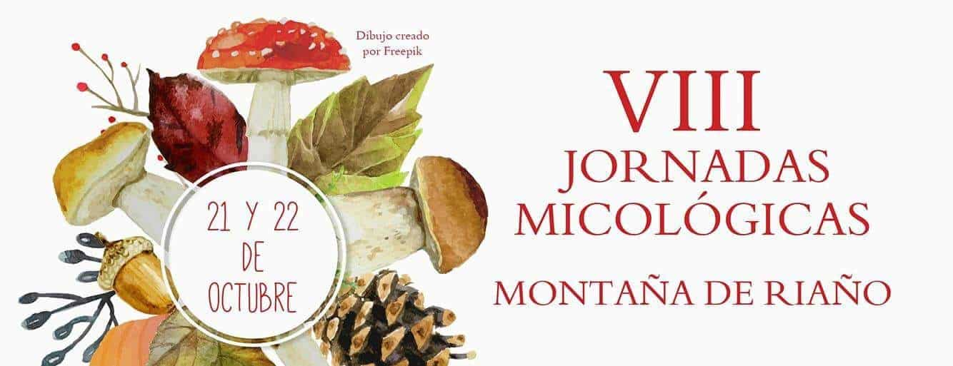 8th edition of the Jornadas Micológicas Montaña de Riaño, Northern Spain